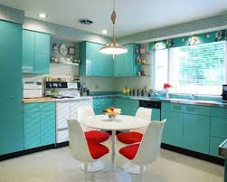 Turquoise Kitchen Blue Kitchen Decor Photo By Donna Dotan Interesting Vintage