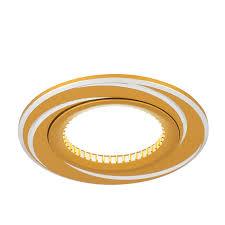 <b>AL015 Светильник Gauss Aluminium AL015</b> Круг. Золото/Хром ...