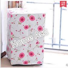 waterproof sunscreen washing machine cover case protective dust jacket front open cubierta lavadora