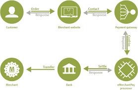 online payment gateway pci compliant   emerchantpayonline payment gateway process diagram