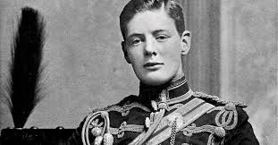 Winston Churchill when he was young and irresponsible, just like ...