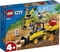 Купить <b>Конструктор LEGO City</b> 60252 Строительный бульдозер с ...