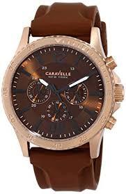 Buy <b>Caravelle New York</b> Sport Analog Brown Dial Men's Watch ...