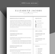 resume template cv professional templates il full resume template cv professional templates il full