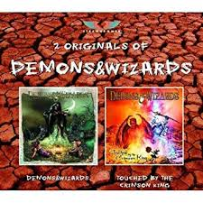 Buy <b>Demons</b> & <b>Wizards</b>/ <b>Touched</b> By The Crimson King Online at ...