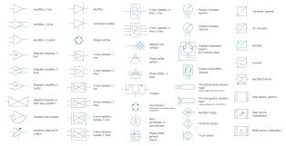 electrical symbols  electrical diagram symbolscomposite assemblies library  electrical symbols