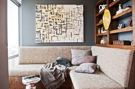 chic large wall decorations living room: chic alphabetical large wall art hang on white wall also square table storage