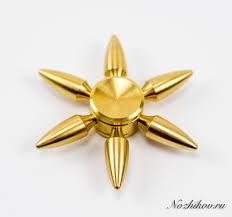 <b>Спиннер Hand Spinner</b> Золотая <b>Пуля</b> - купить шестиконечный ...