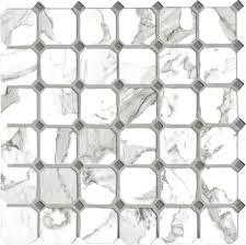 <b>Керамическая мозаика Vallelunga</b> Calacatta Ottagona 30х30 см ...
