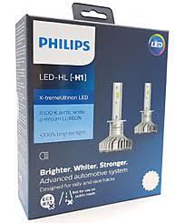 <b>Philips X</b>-<b>tremeUltinon</b> LED H1 (+200%) 6500K (2 шт.) 11258XUX2
