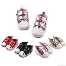 Baby Boy Girl Shoes Newborn Baby <b>Classic Heart</b>-<b>shaped</b> First ...