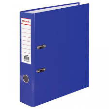 <b>Brauberg Папка</b>-<b>регистратор ламинированная</b> 80 мм ...