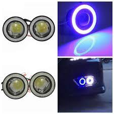<b>2Pcs</b>/<b>lot Car</b> Fog <b>lights</b> Universal Waterproof 1200Lm Angel Eyes ...