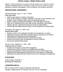 front desk clerk resume getessay biz sample for office clerk front desk clerk in front desk clerk front desk clerk resume