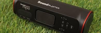 Беспроводная <b>колонка Creative Sound Blaster</b> FRee: больше звука