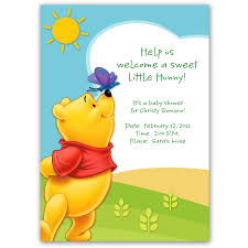 printable winnie the pooh baby shower invitation templates winnie the pooh baby shower invitations templates