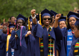 black college graduate wealth why it was decimated by the recession 489180613 graduates participate in howard universitys 146th