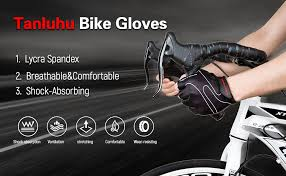 Tanluhu <b>Cycling Gloves</b> Mountain <b>Bike Gloves Half Finger</b> Road ...