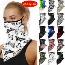 <b>1PC</b> Cool Motorcycle Face Cover <b>Breathable Ice</b> Silk Neck Cover ...