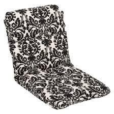 outdoor dining chair cushions xkfin black patio chair cushions
