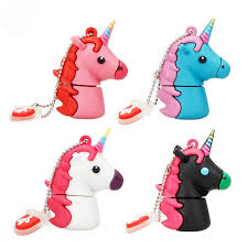 cute Unicorn <b>USB flash</b> drive pen drive <b>real capacity</b> 4GB 8GB 16GB ...