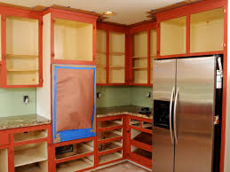 Painted Kitchen How To Paint Old Kitchen Cabinets How Tos Diy