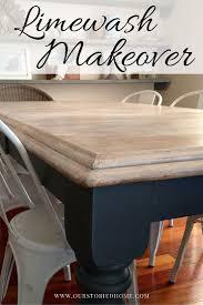 diy furniture restoration ideas. limewashed table makeover diy furniture restoration ideas