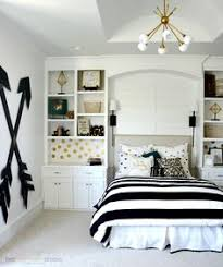 pottery barn teen girl bedroom with wooden wall arrows by two thirtyfive designs bedroom girls bedroom room