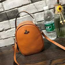 <b>Decent2019</b> Pattern New Bees Genuine Leather <b>Woman</b> Single ...