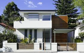 Architecture  Gorgeous Front View Of Small Contemporary Home    Architecture Stunning Small Contemporary House Plans Architecture House Design Ideas Outside Views gorgeous front