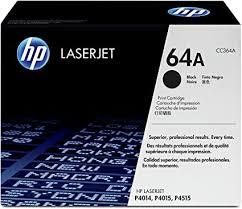 <b>HP CC364A 64A</b> Original LaserJet Toner Cartridge, Black, Single ...