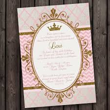 princess invitation royal princess party invitations tons to choose from customized wording print as many as you want quick ship