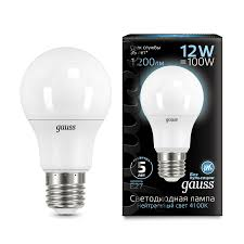<b>Лампа Gauss LED A60</b> globe 12W E27 4100K - Gauss ...