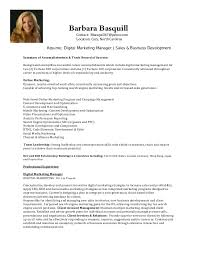 digital marketing manager   sales  amp  business development resume b bas…barbara basquill contact  bbasquill  yahoo com location  cary  north carolina resume
