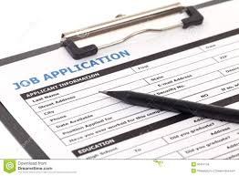 job application form isolated stock images image  job application form isolated