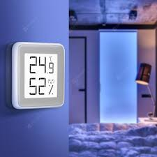 <b>C201 Electronic E-ink</b> Screen Thermometer Hygrometer 1pc