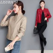 Medium Syle <b>Fur</b> collar Leather <b>Coat</b> | <b>Jackets for</b> women, <b>Coats for</b> ...