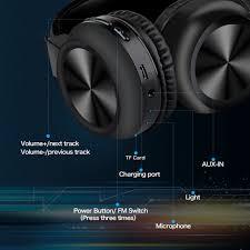 TAO Bluetooth Headphones <b>Over Ear</b>, <b>LED</b> Light up <b>Wireless</b> ...