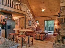 Rustic Cabin Bedroom Decorating Log Cabin Daccor In Timeless Style The House Decor