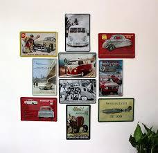 vintage decor clic: por clic car wall art lots