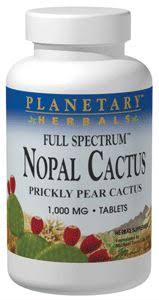 Planetary Herbals <b>Nopal Cactus Full</b> Spectrum (Prickly Pear ...