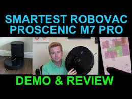 Most Advanced RoboVac EVER <b>Proscenic M7 Pro</b> Dust Collector ...