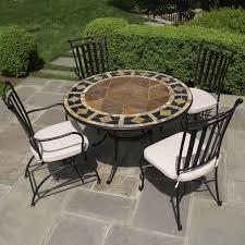 patio table and 6 chairs: alfresco does marble tables like nothing you have ever seen outdoor patio dining furniture at