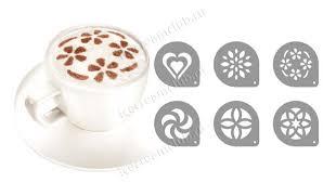 <b>Трафареты</b> для кофе <b>капучино Tescoma</b> myDRINK 308850 ...