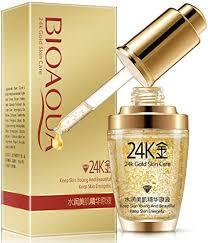 <b>BIOAQUA</b> 24K Gold Essence Collagen Skin Face <b>Moisturizing</b> ...