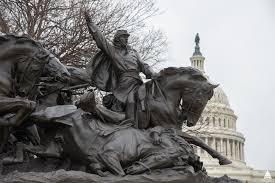 ulysses s grant memorial architect of the capitol united restored bronze of the grant memorial