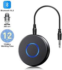 HOHT Wireless Bluetooth Audio Receiver <b>3.5mm</b> AUX Adapter <b>Car</b> ...
