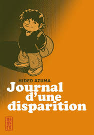 JOURNAL D'UNE DISPARITION (couverture)