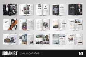 premium magazine templates for professionals inspirationfeed urbanist magazine indesign template