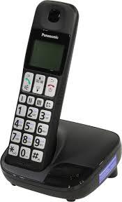 <b>Panasonic KX</b>-<b>TGE110RUB</b> DECT-<b>телефон</b> — купить в интернет ...